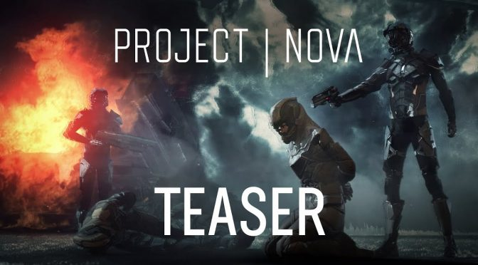Teaser trailer for the first-person co-op shooter set in the EVE Online universe, Project Nova