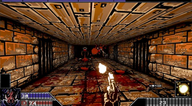 Project Warlock is an old-school first-person shooter that is coming out on October 18th