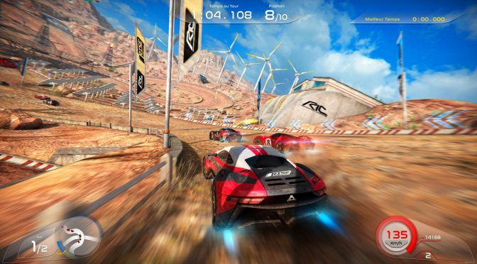 Rise: Race The Future is a new arcade racer, coming to Steam on October 26th