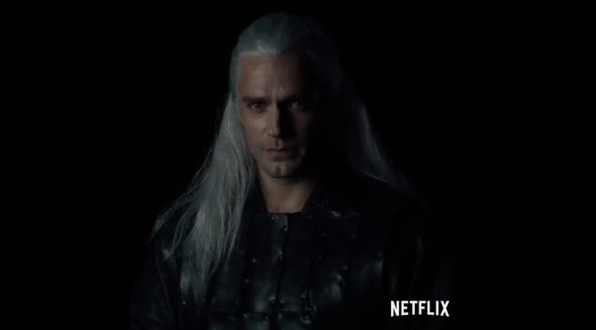 Here is your first look at Henry Cavill as Geralt in Netflix's upcoming The Witcher series