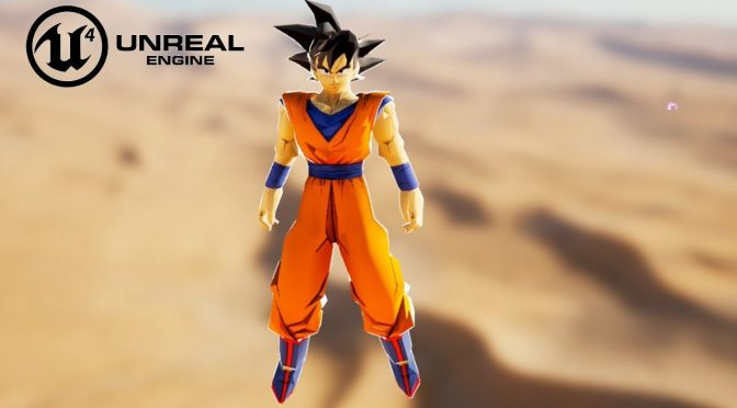 New demo for Dragon Ball Unreal, DBZ fan game in Unreal