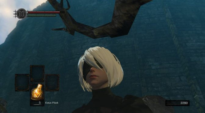 NieR Automata's 2B comes to Dark Souls Remastered thanks to this mod, available for download