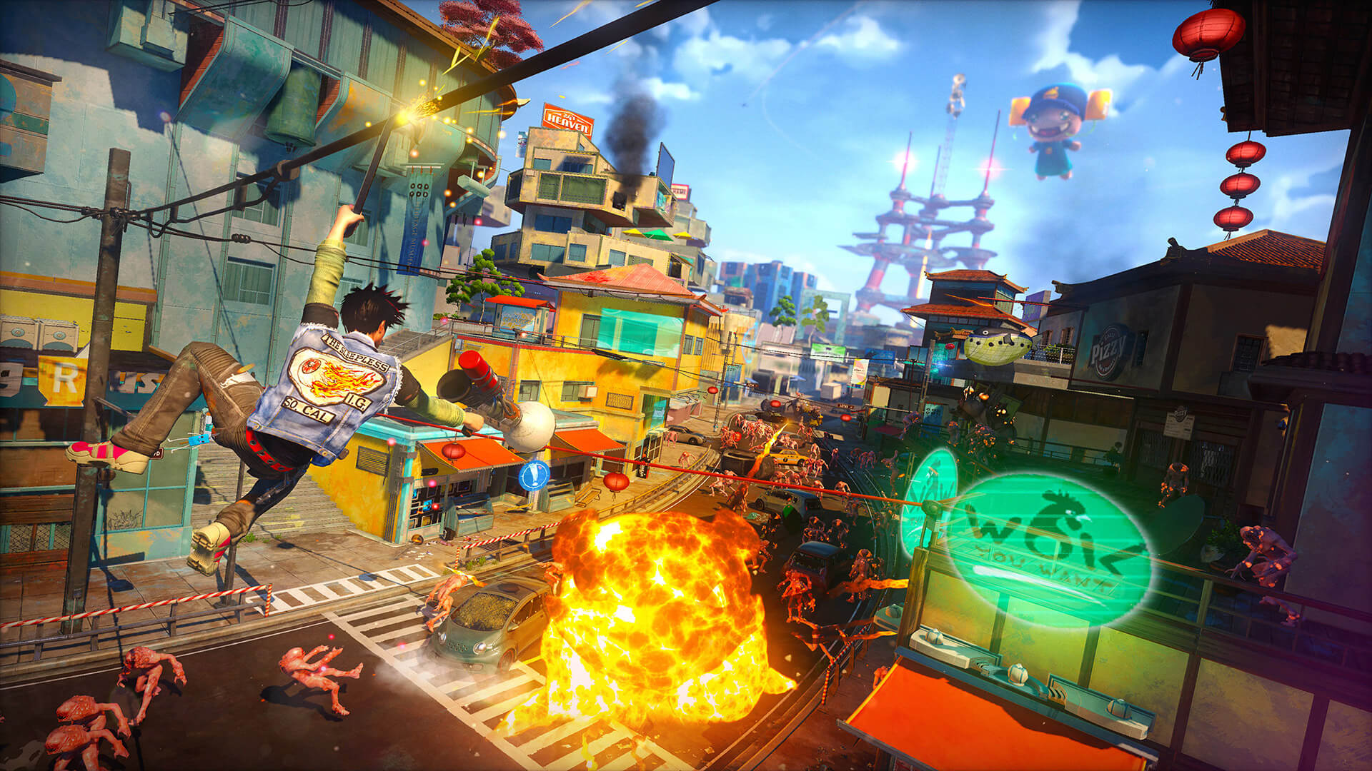 Sunset Overdrive PC Performance Analysis - DSOGaming