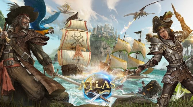 The developers of ARK: Survival Evolved announce their new open-world online sandbox game, ATLAS