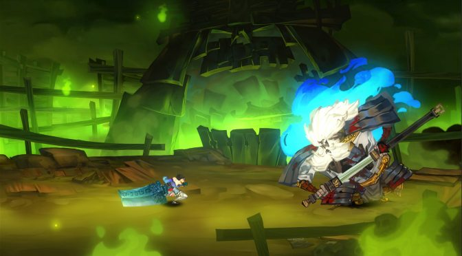 2D hack-and-slash platformer, Bladed Fury, is now available on Steam