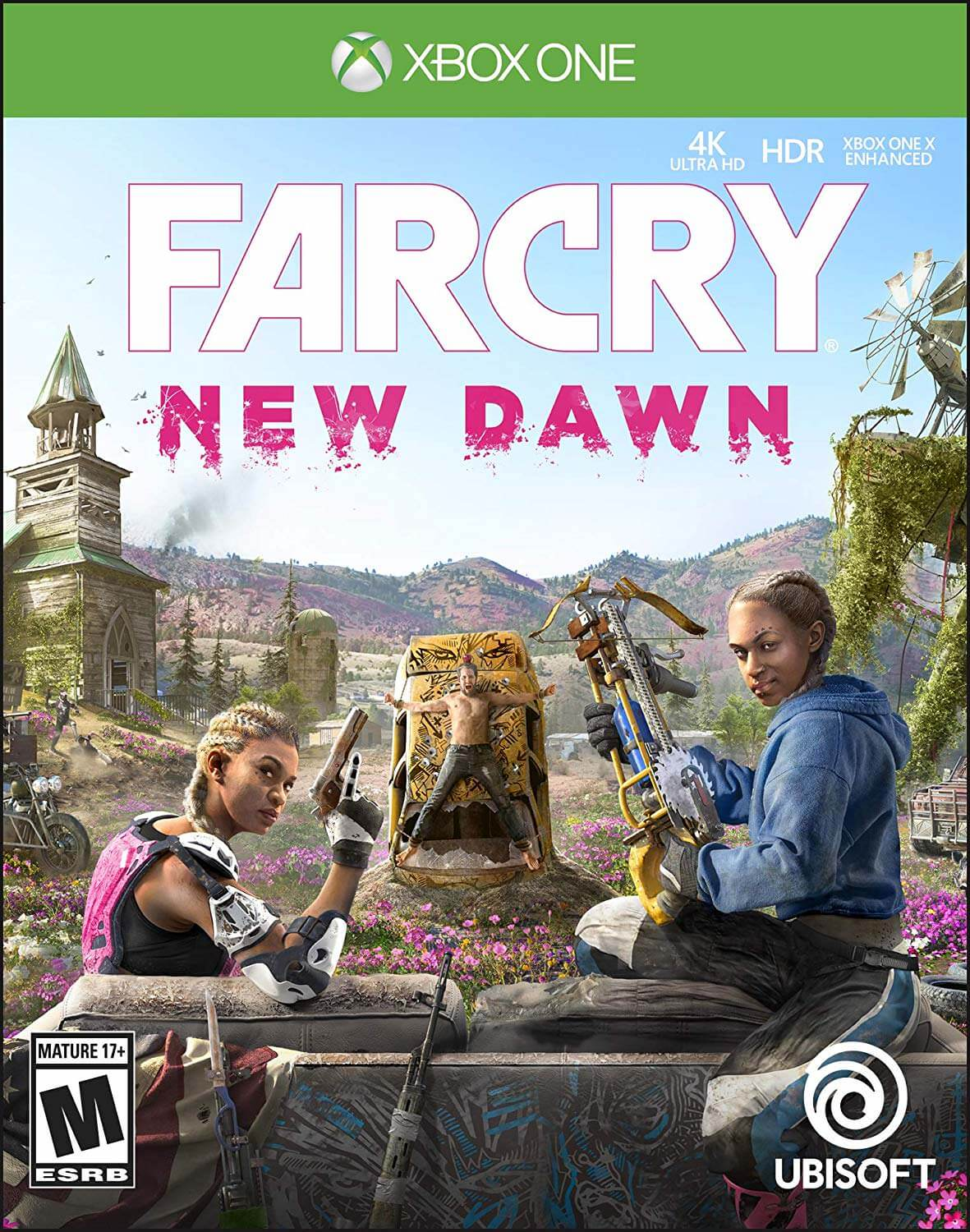 The New Far Cry Game Will Be Called Far Cry New Dawn Cover Art