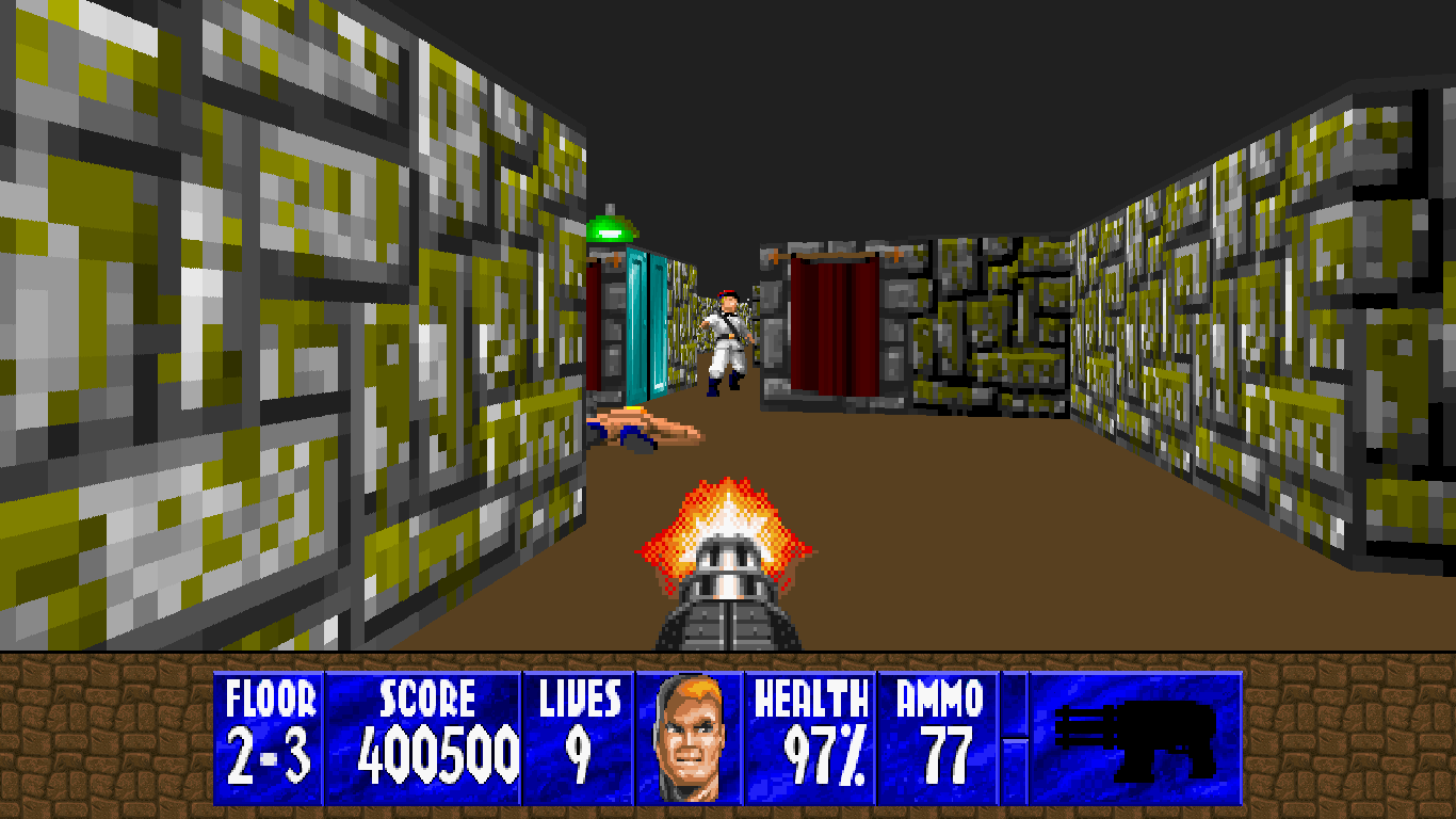 Wolfenstein 3D SNES ported to the PC and is available for download