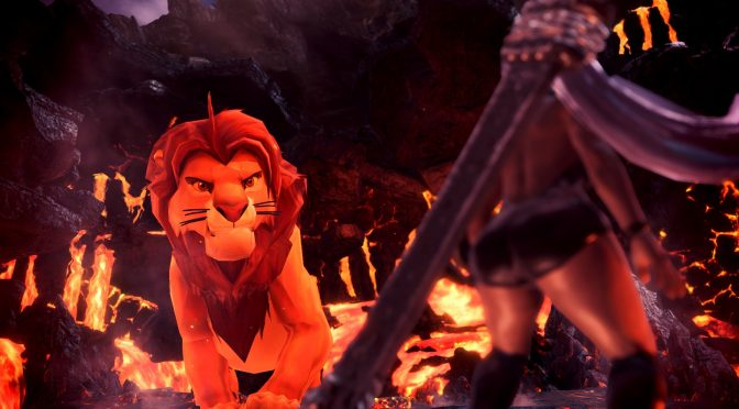 There is a The Lion King mod for Monster Hunter World that you can download right now