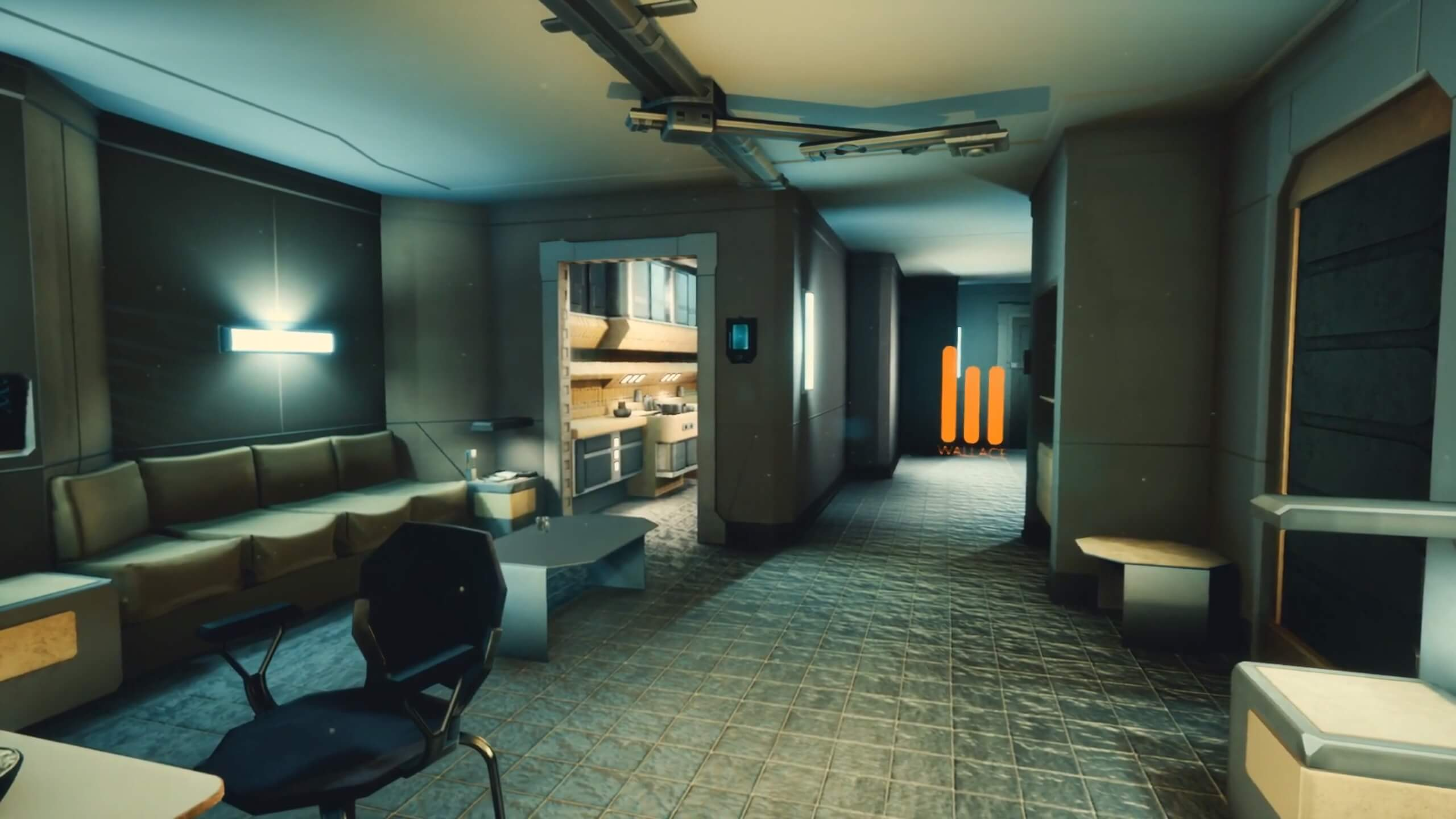 K's apartment from Blade Runner 2049 recreated in Unreal