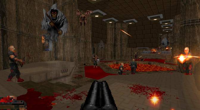 Demo for Bloom, crossover between Doom and Blood, is available for download
