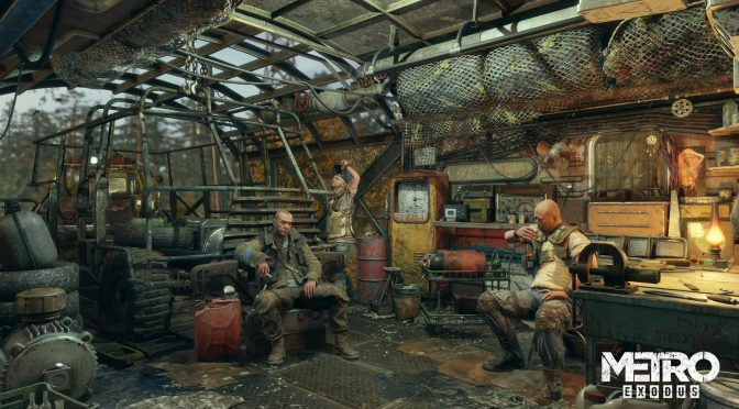 Metro Exodus - DLSS is still awfully blurry even with its