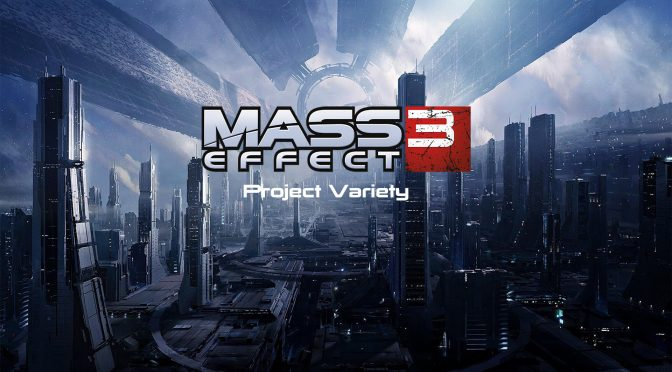 Project Variety is a new major overhaul mod for Mass Effect 3 that is available for download