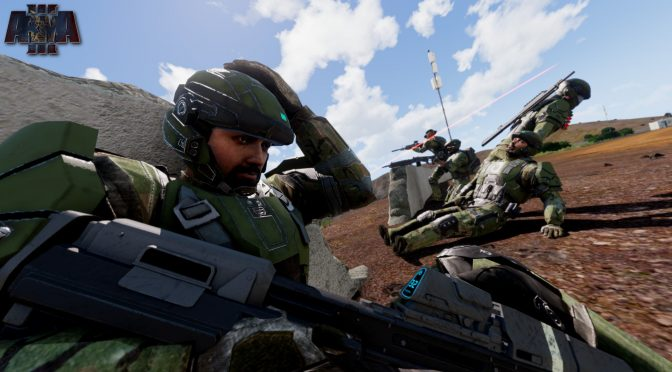Halo comes to Arma 3 via the Operation: TREBUCHET mod, now available for download