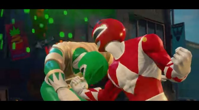 Power Rangers Battle for the Grid is a new fighting game, first gameplay trailer leaked