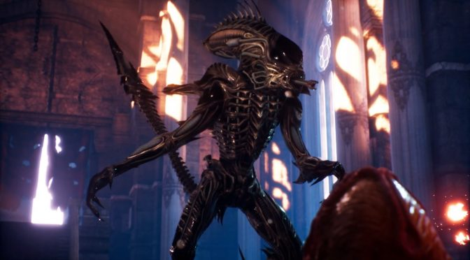 Here is what a new Aliens game in Unreal Engine 4 could have looked like