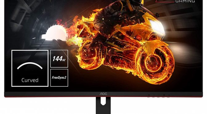 AOC releases new 31.5″ Freesync 144Hz VA monitor that is priced at 399€, AOC CQ32G1