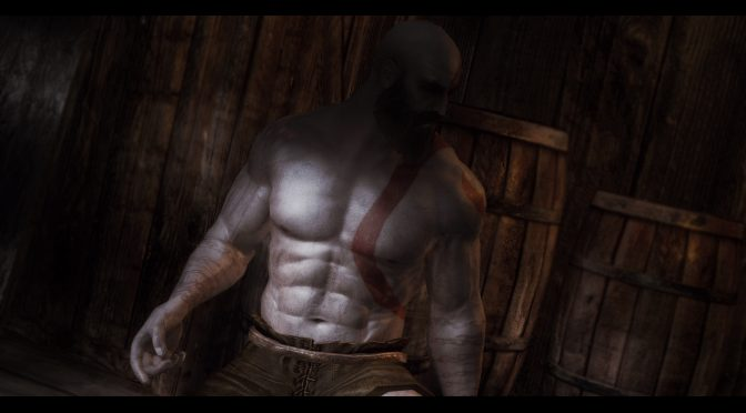 You can now play as Kratos from PS4's God of War in Skyrim thanks to this amazing mod