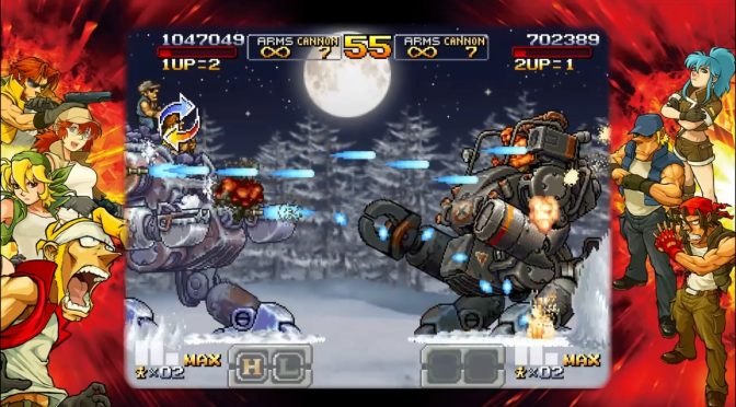 Metal Slug XX is now available on Steam but lacks graphics settings & key mapping functionalities