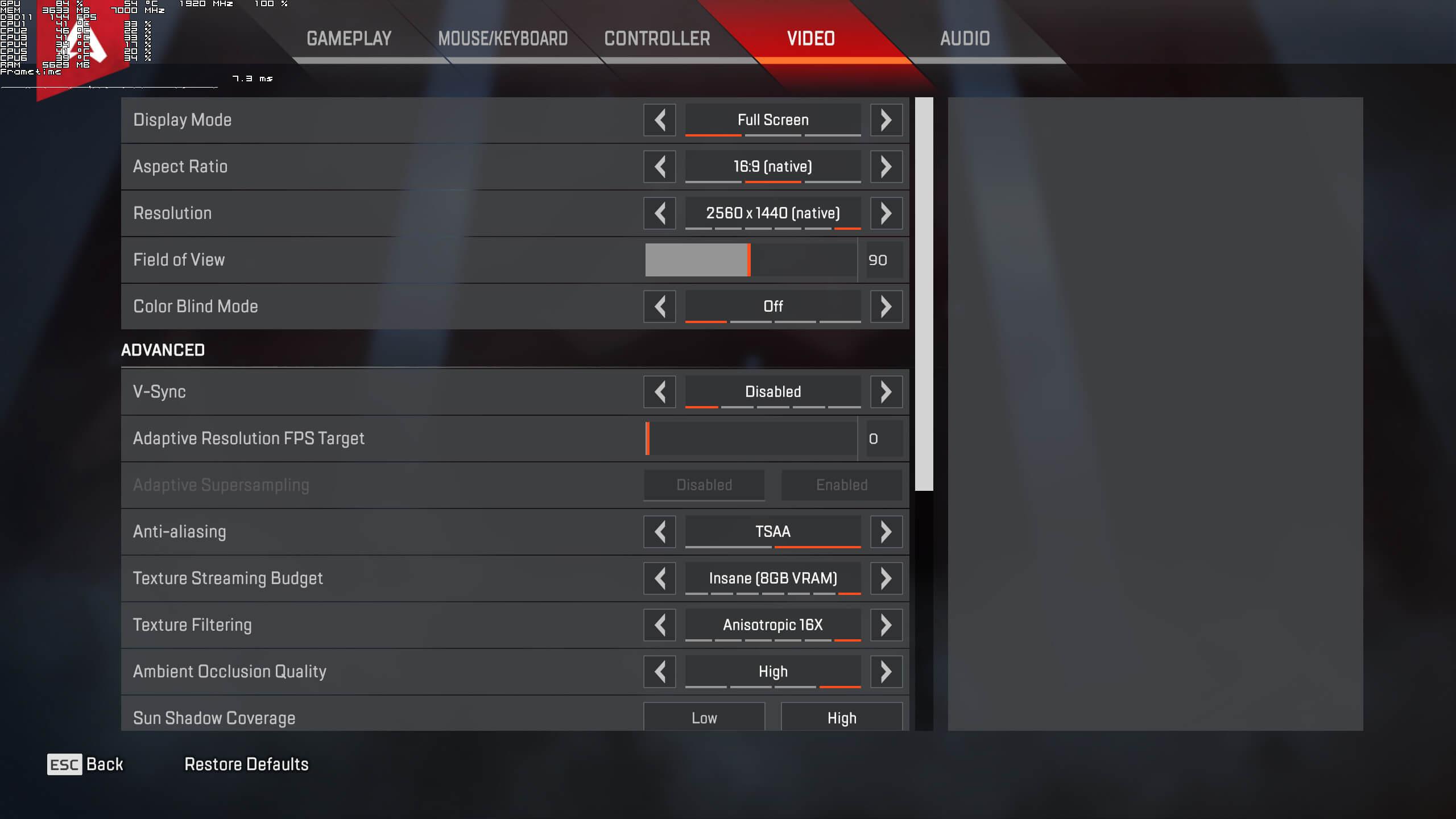 Apex Legends PC Performance Analysis - DSOGaming