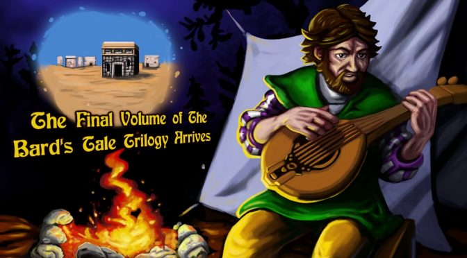 The Bard's Tale III: Thief of Fate has been released