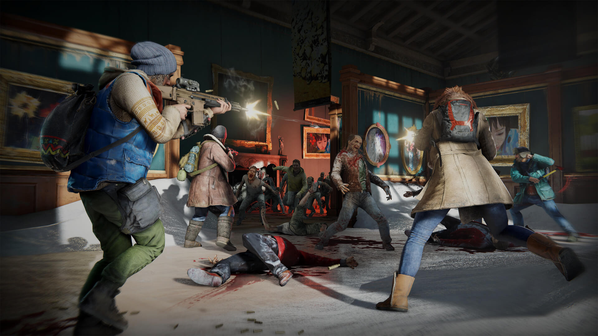 First World War Z patch fixes crashes, connectivity and