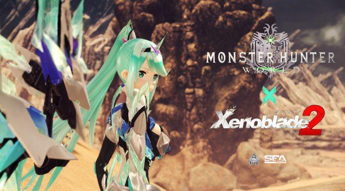 Xenoblade 2 Pneuma mod released for Monster Hunter World