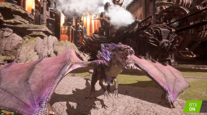 Nexon's online action RPG, Dragonhound, will support real-time ray tracing effects