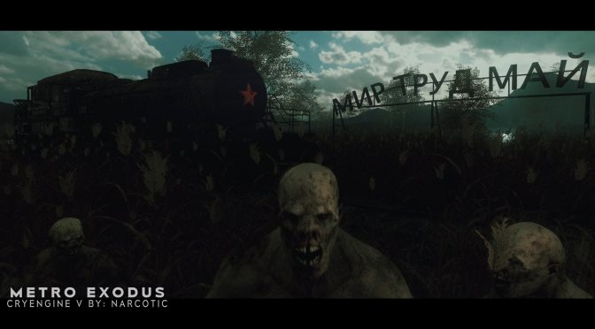 CRYENGINE developer remakes Metro Exodus scene in CRYENGINE V, using the same assets