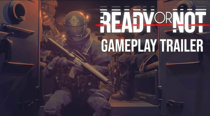 Ready or Not is a new realistic tactical shooter inspired by the SWAT series for the PC