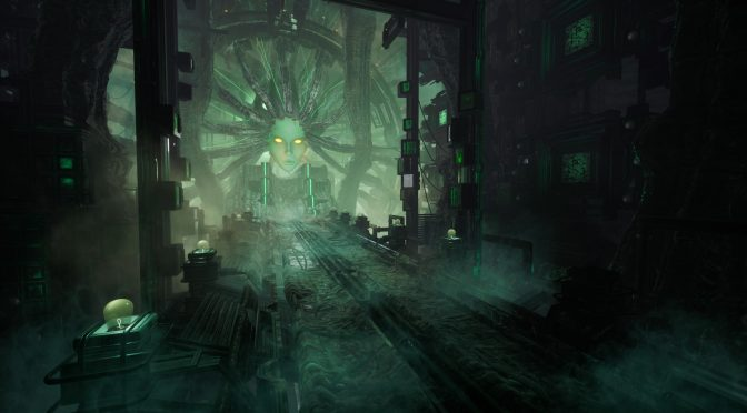 Sledgehammer Games' environment artist creates a beautiful System Shock 2-inspired Shodan scene in Unreal Engine 4