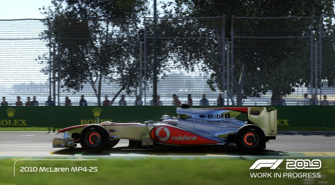 First official in-game trailer released for F1 2019