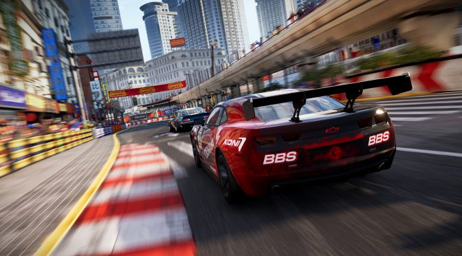 First in-engine trailer released for Codemasters' new GRID racing game
