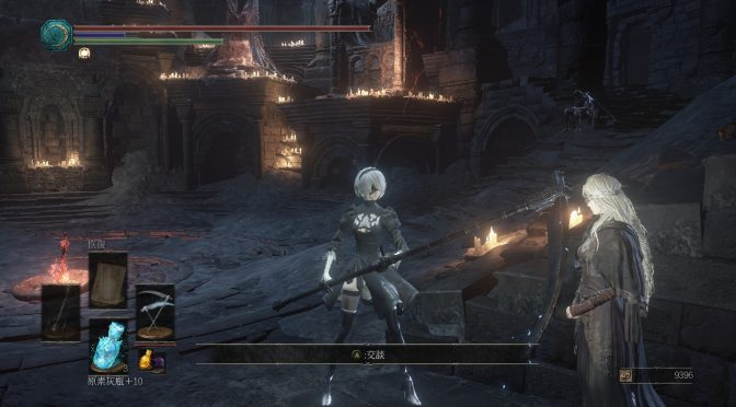 This NieR Automata mod for Dark Souls 3 allows you to play as 2B
