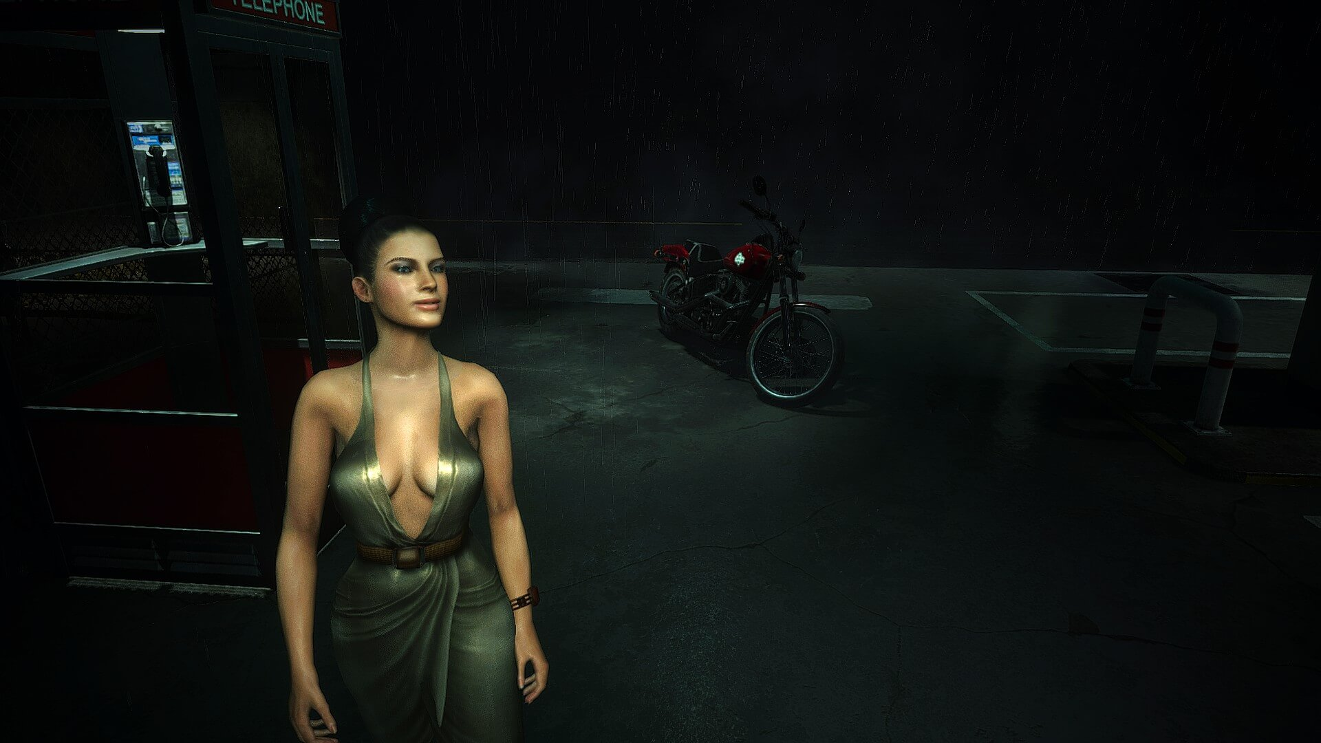 This Resident Evil 2 Remake mod lets you play as Excella Gionne from