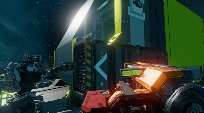 Starbase is a new hybrid voxel/vertex-based space MMO from the creators of the Trine series