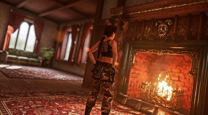 3D artist remakes Tomb Raider 2 environments + screenshots for Tomb Raider The Dagger Of Xian Remake