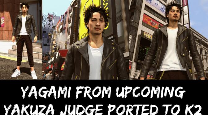 You can now play as Takayuki Yagami from Yakuza Judgment in Yakuza Kiwami 2