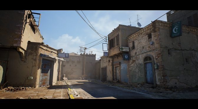 This Counter Strike De_Dust 2 fan remake in Unreal Engine 4 looks really cool