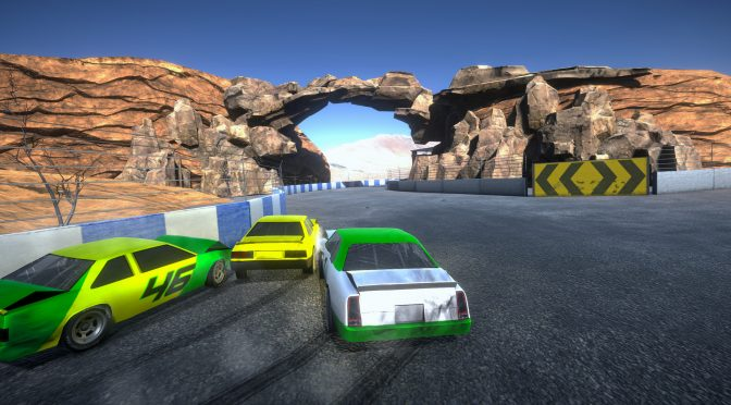 Crumple Zone is a spiritual successor to Destruction Derby and is now available on Steam