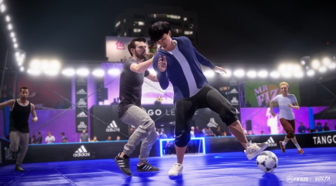 FIFA 20 has more than 10 million players, VOLTA FOOTBALL mode the second most popular mode