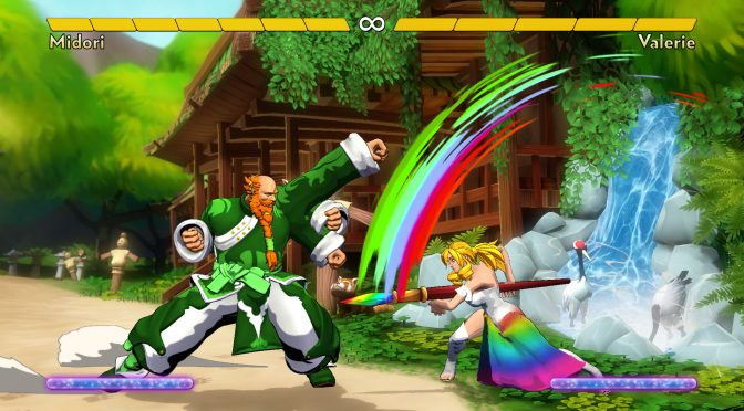 Fantasy Strike is a new fighting game from the lead designer of Super Street Fighter II Turbo HD Remix