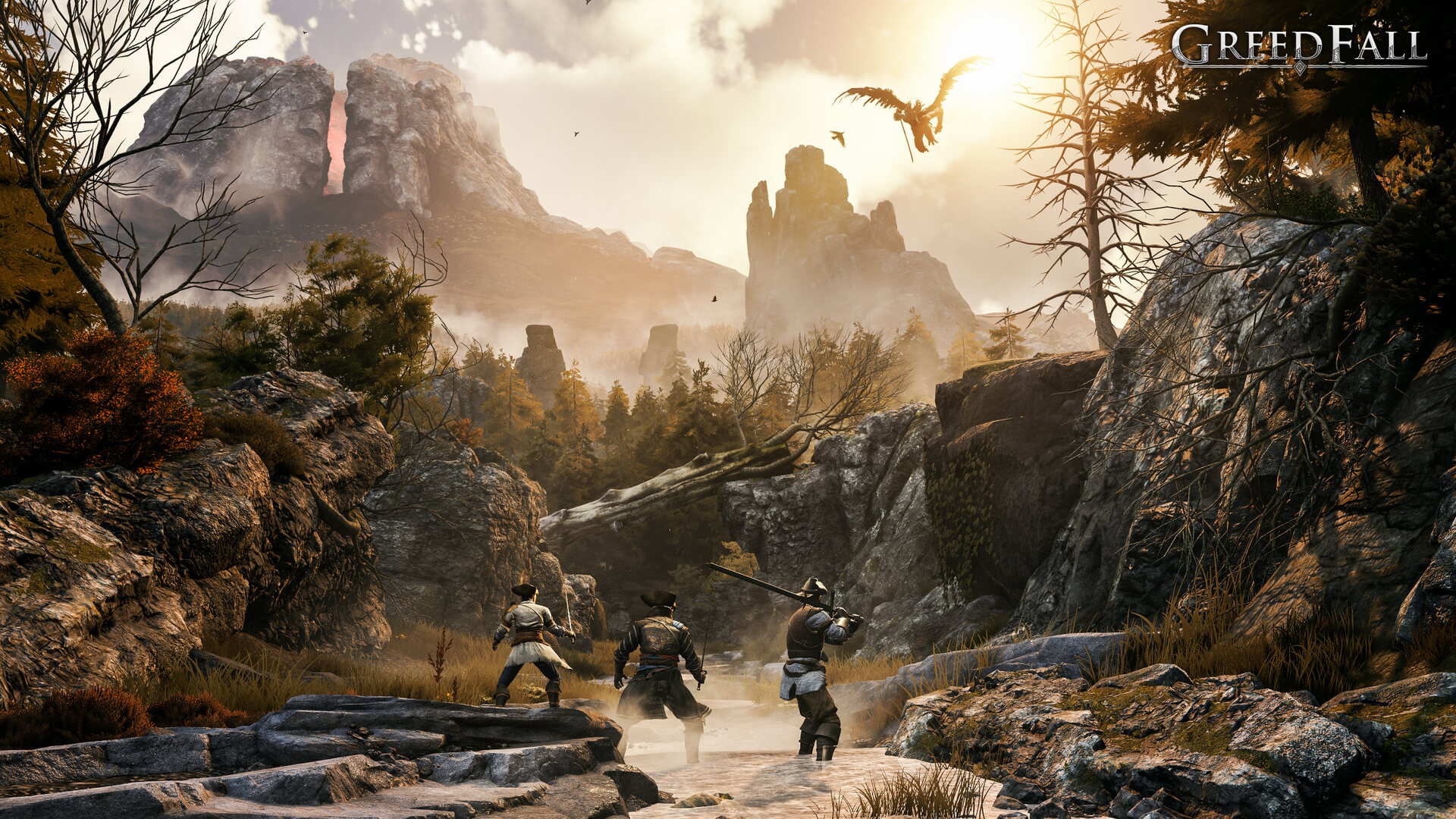 E3 2019 screenshots and trailer for SPIDERS' latest RPG, Greedfall