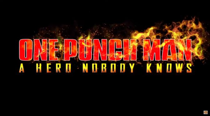 One Punch Man: A Hero Nobody Knows has been officially announced for the PC