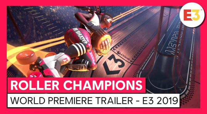 Roller Champions is a free-to-play skill based team PvP sports game, pre-alpha E3 demo available for download now