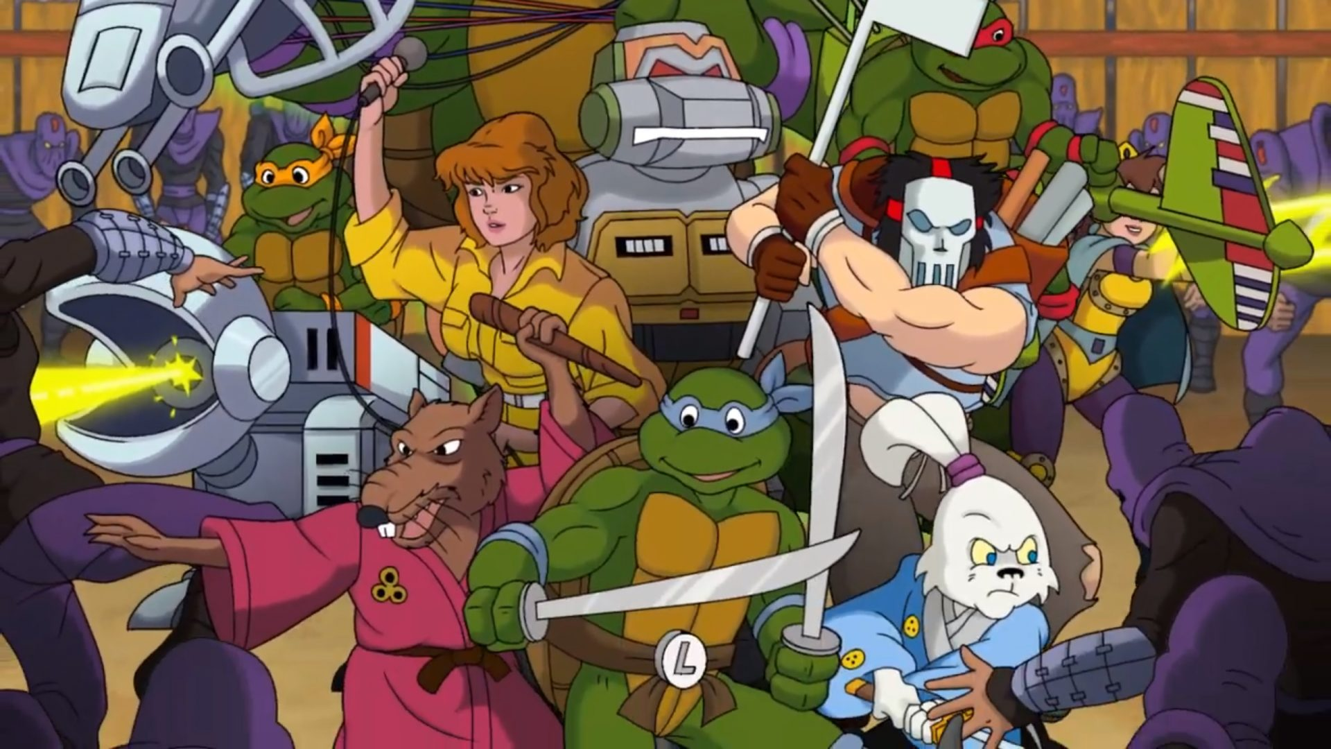 Teenage Mutant Ninja Turtles Rescue-Palooza is a free fan