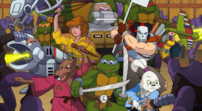 Teenage Mutant Ninja Turtles Rescue-Palooza is a free fan game that you must download and play