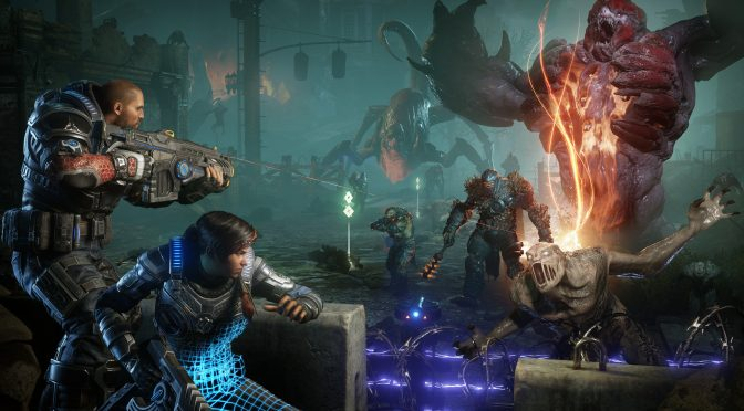 Gears 5 October 1st update released, adds Async Compute to NVIDIA GPUs, adds new Skill Cards
