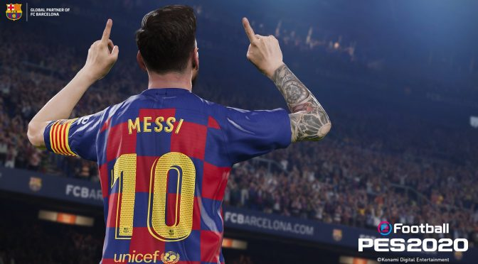 Here is your first look at eFootball PES 2020, first