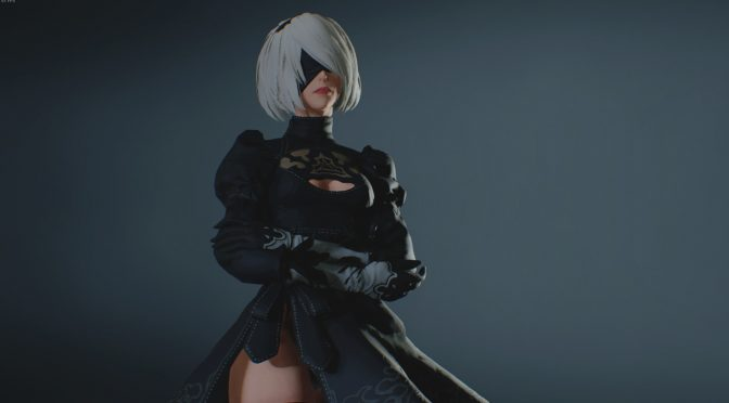 You can now play as 2B from NieR Automata in Resident Evil 2 Remake