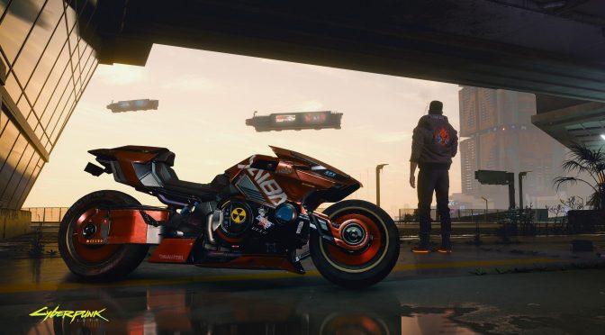 Cyberpunk 2077 bike screenshot